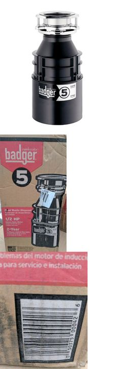 garbage disposals new garbage disposal badger 900 3 4 hp u003e buy it now only on ebay garbage disposals pinterest - Badger 5