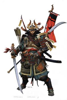 Samurai by Wayne Reynolds