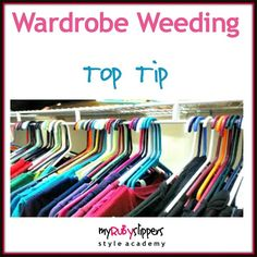 Having a good old clear out can be really cathartic...Next time you feel inspired to have a clear out sort your clothes into piles as you sort through. Have a keep pile sell charity and throw away. I call this a mini Wardrobe Weed you need to put a good amount of time to one side to do it.  Here are the basic steps-  To start with you should get everything out and sort it into piles things you wear regularly and love things you never wear and special occasion stuff that you wear once in a…
