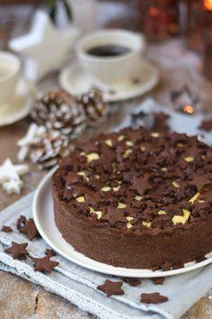 Winterlicher Weihnachtlicher Zupfkuchen mit Sternen (11)