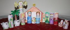 Every Bed of Roses: Upcycled Nativity