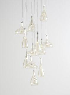 Photo 2 of Carrara 12 Light Ceiling Pendant Light