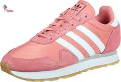 adidas Haven W, Chaussures de Running Femme, Multicolore (Tactile Rose F17/Ftwr blanc/Gum 3), 38 2/3 EU