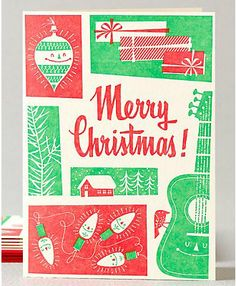 Retro Christmas - Set of 6 from Hello Lucky