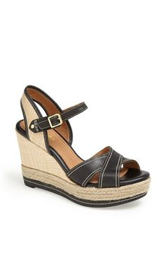 Clarks® 'Amelia Air' Espadrille Wedge Sandal (Regular Retail Price: $119.95) available at #Nordstrom