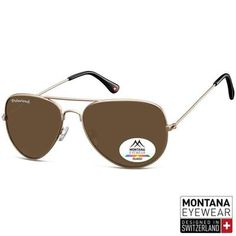 0f07c3894a Γυαλιά Ηλίου Aviator Montana Polarized MP96-GOLD-e-chap Montana