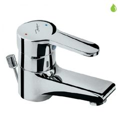 Jaquar Opal Single Lever Basin Mixer With Popup Waste System & 450 MM Long Braided Hoses