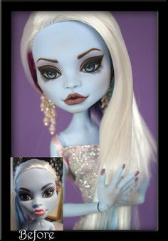 Alice - Custom Monster High Abbey Doll by *IvyHeartDesigns on deviantART