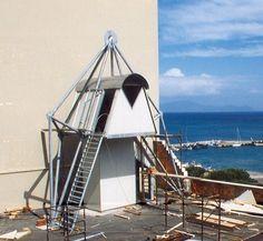 Torrino Ascensore Orlandi Shopping Centre, Formia, 1999 - michelangelo gargano, bernardo re