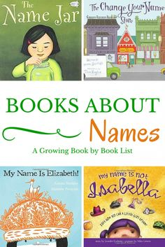 About Names Books about Names is a fun book list for back to school or a learning your name unit!Books about Names is a fun book list for back to school or a learning your name unit! Kindergarten Names, Preschool Names, Name Activities, Preschool Books, Kindergarten Reading, Teaching Reading, Preschool Ideas, Reading Resources, Language Activities