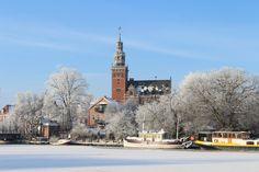 Winterliches Leer, Ostfriesland
