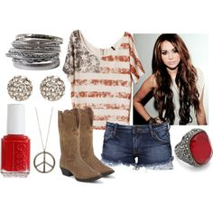"""""""Party in the USA"""" by qtpiekelso on Polyvore"""