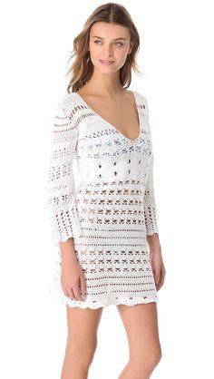 Vestido de verano tendencias de la moda de por LecrochetArt en Etsy, $330.00