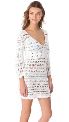 CROCHET FASHION TRENDS exclusive white crochet  by LecrochetArt, $330.00