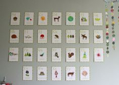 """""""Nature Alphabet Wall Cards from Children Inspire Design turned out. Talk about high-impact, low-cost wall art (I got them for a discount through zulily). They went up very easily with a laser level and Command wall strips."""""""