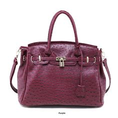 Chacal Taylor Arizona Ostrich Tote Bag  $34.00