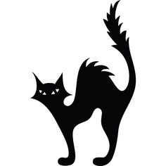 WC wall decals - Wall decal Silhouette Cat | Ambiance-sticker.com