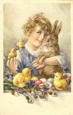 1947 Easter Postcard                                                                                                                                                                                 More