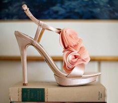 Wedding shoes by Badgley Mischka