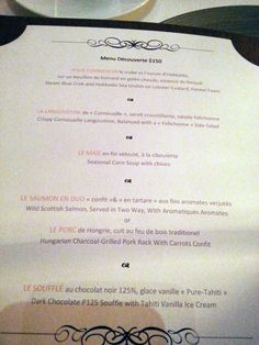 Find out more about french fine dining restaurant Les Amis at: http://www.dessertromance.com/les-amis/