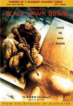 Black Hawk Down. All-star cast including Josh Hartnett, Eric Bana, Ewan McGregor and more