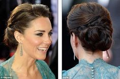 Isn't she beautiful?! I think i may steal some of her style for the wedding starting with her hair. :)