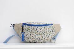 Nerka natura standard! Len i kwiaty! - Sklep Online Artyferia Diaper Bag, Lens, Handmade, Hand Made, Diaper Bags, Craft, Handarbeit