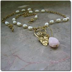 Elli Necklace from Echo Moon Jewelry