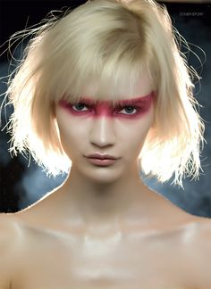 Blade Runner ::: Photo Roy Schweiger, make-up and hair Einat Dan, art director Paolo Salerno. Blade Runner, Makeup Art, Hair Makeup, Futuristic Makeup, Runners Outfit, Fashion Show Makeup, Cyberpunk, Evolution Of Fashion, Neon Aesthetic
