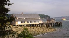 Boathouse, Little Diamond Island, Maine