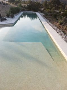 Another pool with a beach entry.