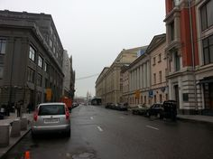 In the centre of Moscow city.