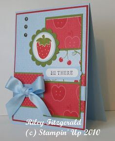 Stampin' & Dancin' With Riley: Scrappy Card?