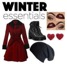 """""""Winter essentials"""" by pontius-1 on Polyvore featuring Black"""