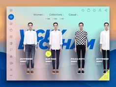 Floating Couture – Ui design concept for a fashion eShop, by Cosmin Capitanu. Game Design, Ux Design, Layout Design, Design Shop, Web Dashboard, Ui Web, Website Layout, Web Layout, Motion Design