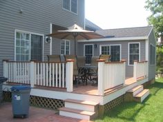 4 seasons room with deck