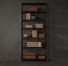 »French Library Shelving Medium                  French Library Shelving