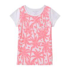 Kid Girls' Palm Tree Tee