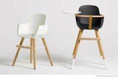 Une chaise haute hyper design. Must have !