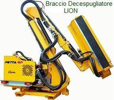 www.bracciodecespugliatore.it -  LION
