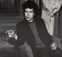 Bob Dylan at a CBS party in Soho, London, May 15, 1965