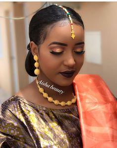 Beauté - #Beauté African Men Fashion, African Fashion Dresses, African Beauty, African Dress, African Wear, African Style, Natural Wedding Makeup, Wedding Makeup Looks, Bridal Hair And Makeup