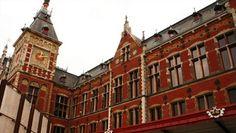 Estação Central de Amsterdam, Holanda