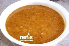 Ezogelin Çorbası Yapılışı Tarifi nihayet guzel bir tarif Easy Soup Recipes, Dinner Recipes, Turkish Recipes, Ethnic Recipes, Turkish Kitchen, Greek Cooking, Wie Macht Man, Food Articles, Dinner Options