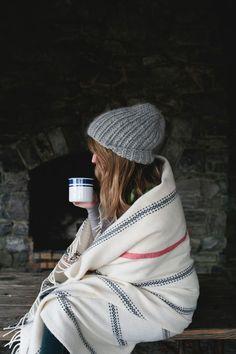 blanket - coffee - beanie