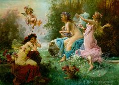 Hans Zatzka  1859 - 1945  Vienna, Austria, This guy is amazing. This is the first time seeing his art. Wow!