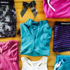 Give the gift that keeps giving! Fitness apparel so stylish you'll look forward to working out. #SoffeGifts