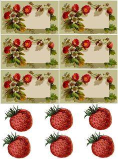 47 Ideas Diy Christmas Presents Mason Jars Printable Labels Canning Labels, Canning Jars, Mason Jars, Strawberry Fields, Strawberry Jam, Diy Christmas Presents, Christmas Diy, Printable Labels, Free Printables