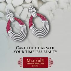‪#‎Cast‬ the ‪#‎charm‬ of your ‪#‎timeless‬ ‪#‎beauty‬ with ‪#‎MahabirDanwarJewellers‬