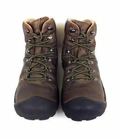 Keen Shoes Leather Brown Comfort Lace Up Ankle Boots Athletic Hiking Mens 11 5   eBay